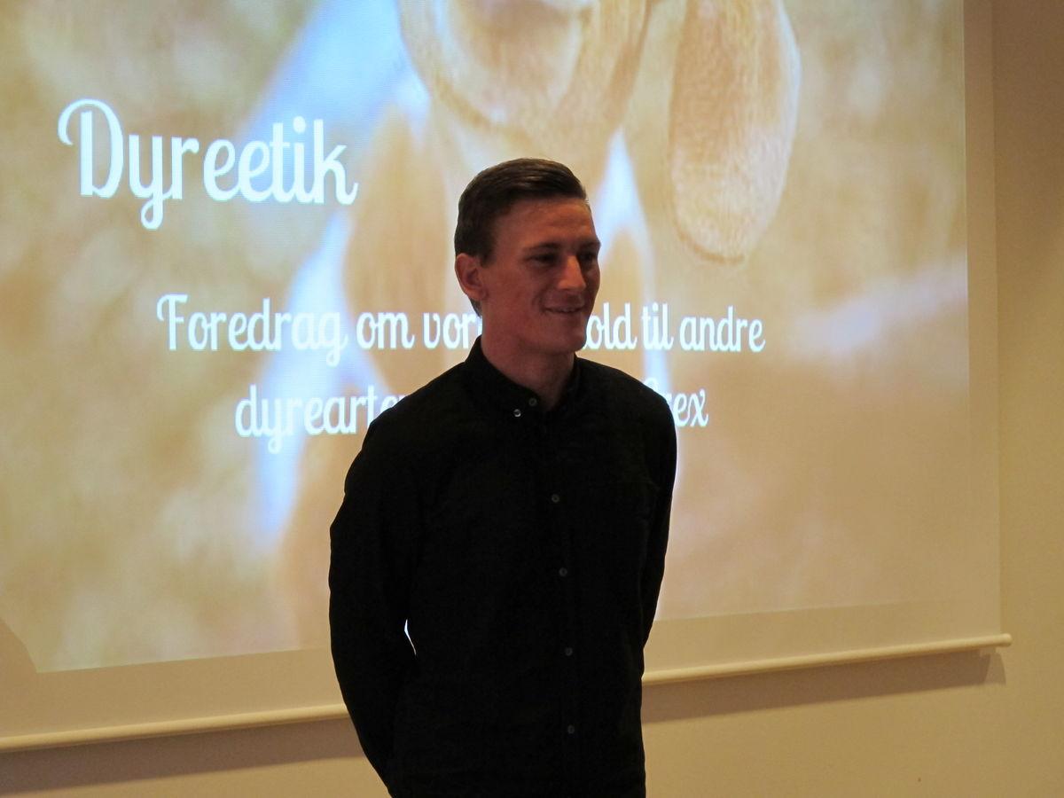 Thomas Erex holder foredrag om Dyreetik