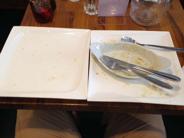 Maden blev spist - easy done!