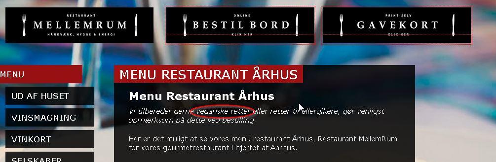 komfur restaurant århus