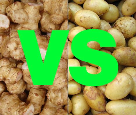 Jordskokker eller kartofler