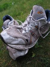 Mudrede sko efter himmelbjergløbet 2013