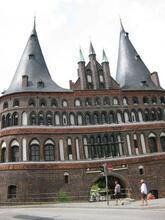Byporten i Lübeck.