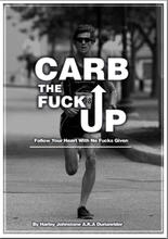 A picture of Durianriders new book where he is running.