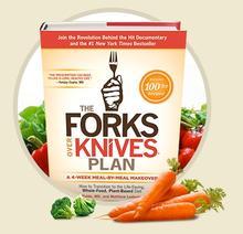 Forks Over Knives illustration.