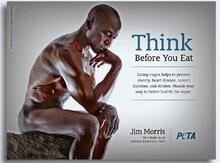 Jim Morris is thinking about other animals in the Peta magazine.